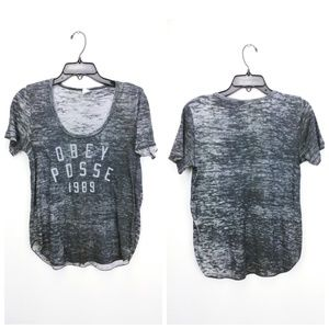 🎰 2/$20 Obey burnout tee